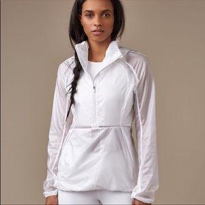 Lululemon Run With It Transparent ZipUp Jacket